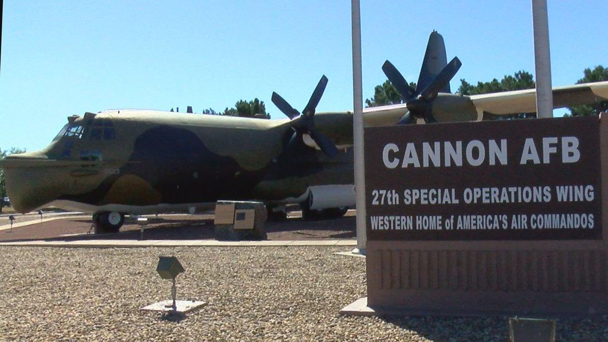 Cannon Air Force Base (Source: KFDA)