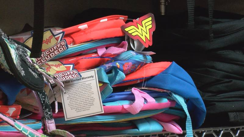 Child Protective Services' Rainbow Room low on school supplies, need 400+ backpacks.