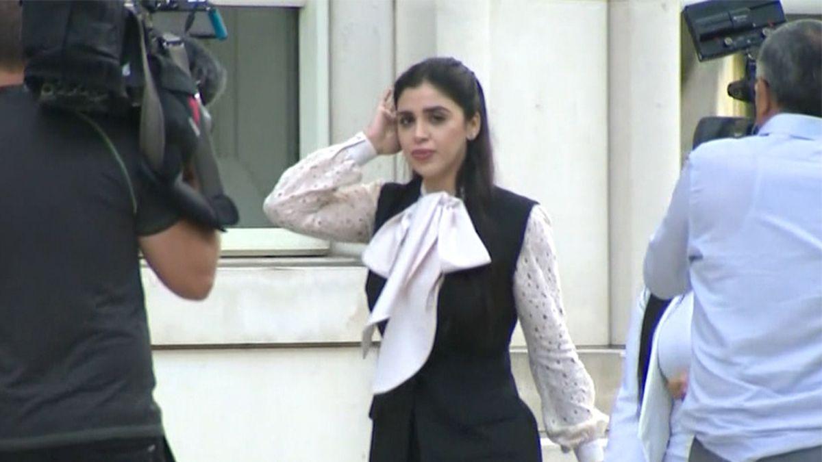 "Emma Coronel Aispuro, shown in this file photo, the wife of Mexican drug kingpin Joaquin ""El..."