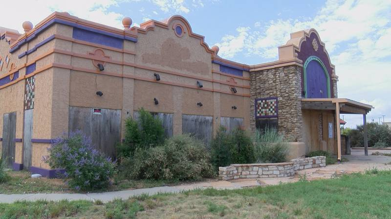 After years of vacancy and vandalism, the old building that housed On the Border Mexican Grill...