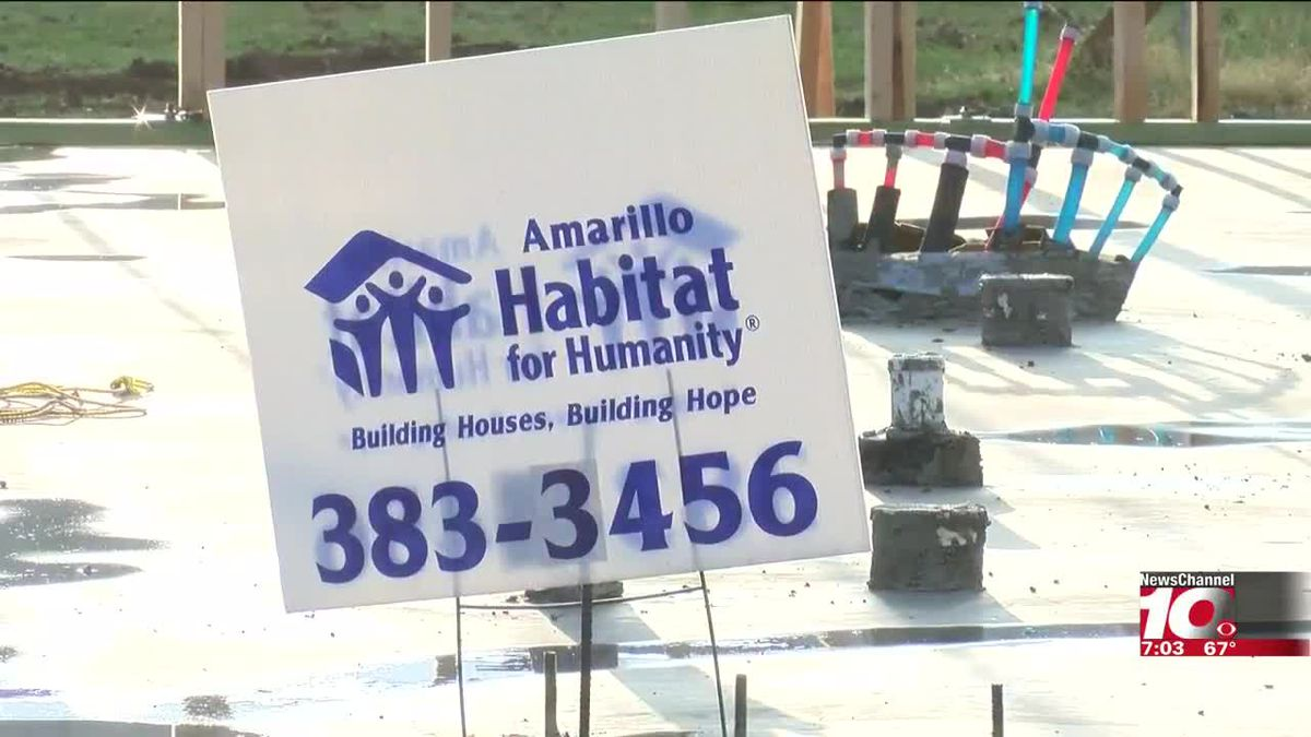 24 out of 25 lots filled in Amarillo Habitat for Humanity neighborhood