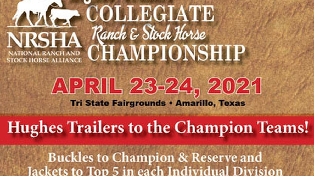National Ranch & Stock Horse Alliance Collegiate Championship Show (Source: ranchhorse.net)