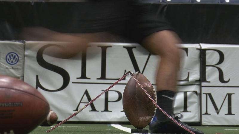 Former WT kicker helps Panhandle athletes prepare for next football season