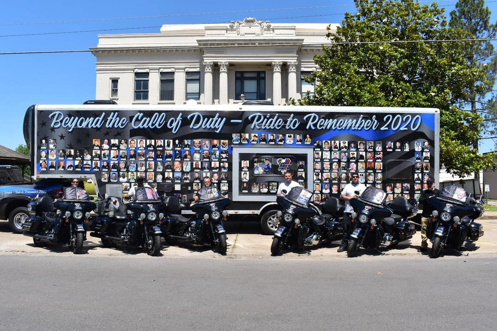 Beyond the Call of Duty - End of Watch Ride to Remember 2020 (Source: Beyond the Call of Duty)