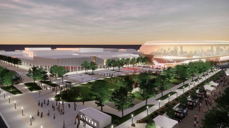 The question of whether to ask voters to approve $280 million in debt to transform the Civic...