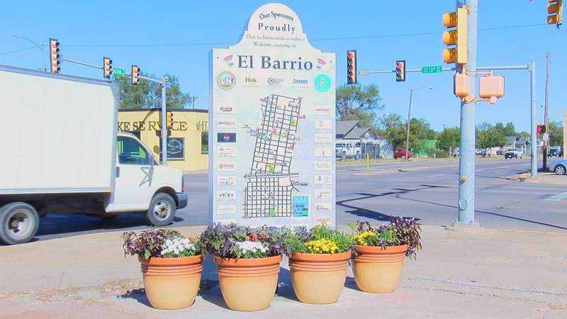 The first El Barrio monument and historical map was unveiled for the first time today.
