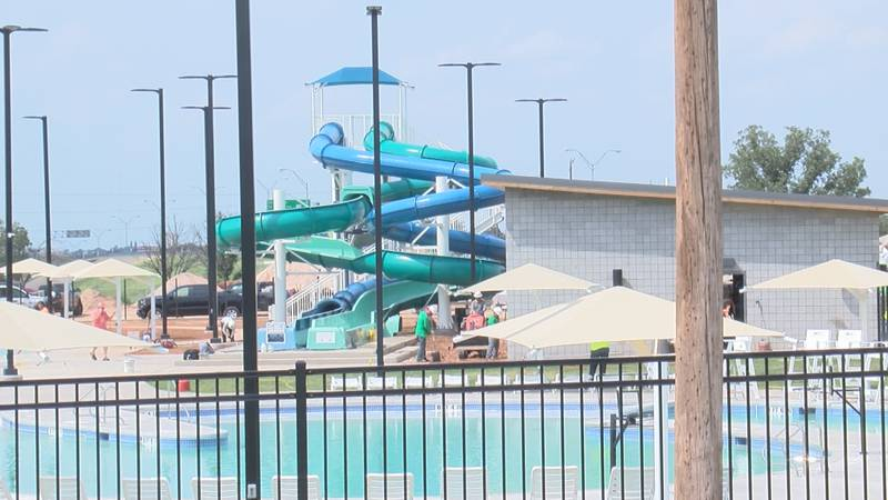 There's still work to be done before the weekend opening of the Thompson Park Pool.