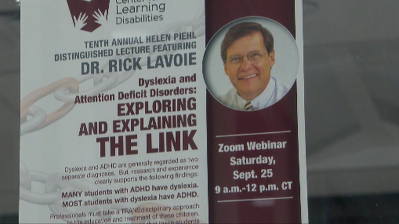 WT LECTURE ABOUT LINK BETWEEN DYSLEXIA AND ATTENTION DEFICIT DISORDER.