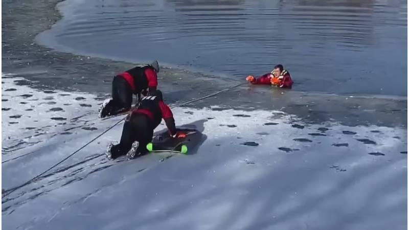 Guymon water rescues
