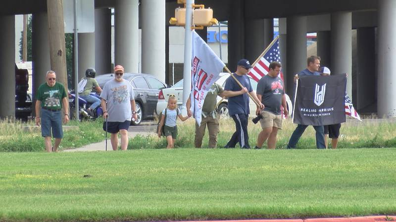 Locals participate in Carry the Load