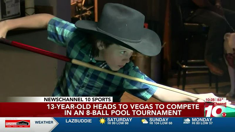 Amarillo boy set to play in 8-ball tournament in Las Vegas