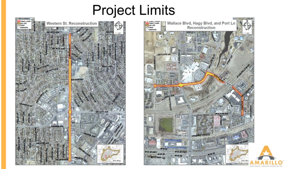Project limits map